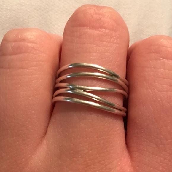 5359438cd Tiffany & Co. Jewelry | Authentic Tiffany Co Elsa Peretti Wave Ring ...